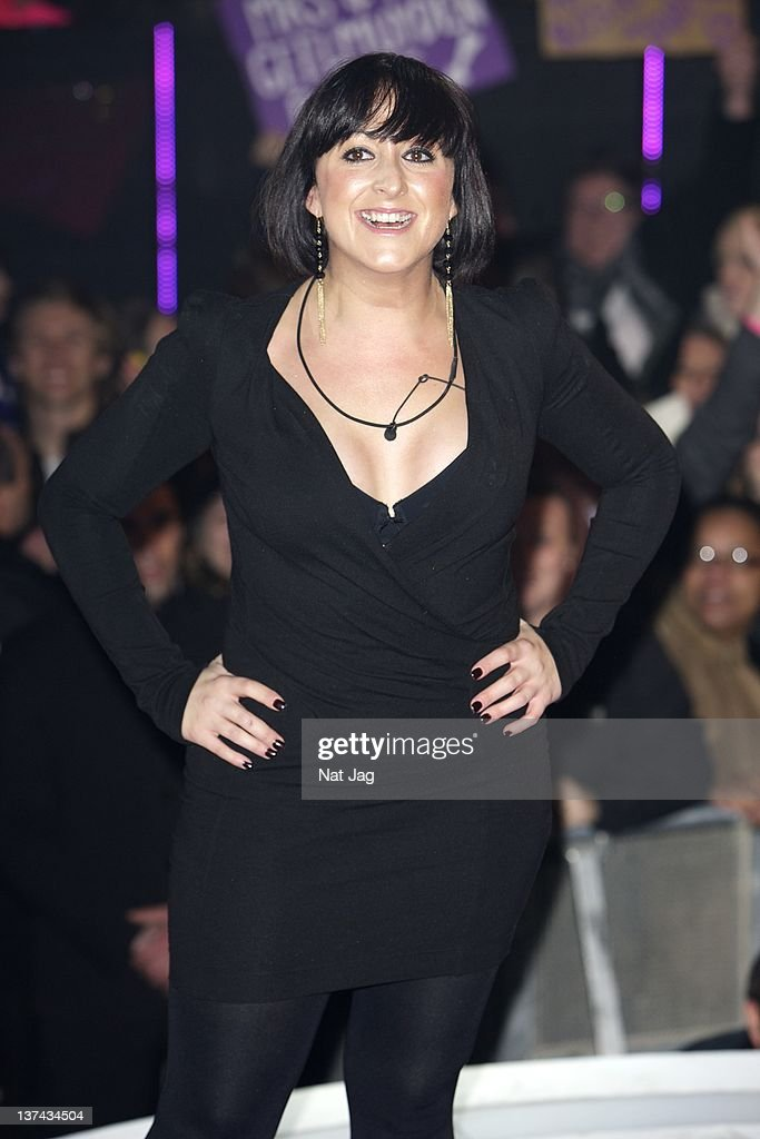 Actress <a gi-track='captionPersonalityLinkClicked' href=/galleries/search?phrase=Natalie+Cassidy&family=editorial&specificpeople=708103 ng-click='$event.stopPropagation()'>Natalie Cassidy</a> is the fifth person to get evicted from Celebrity Big Brother at Elstree Studios on January 20, 2012 in Borehamwood, England.