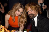 Actress Natalie Dormer and Peter Dinklage attend HBO's Official 2014 Emmy After Party at The Plaza at the Pacific Design Center on August 25 2014 in...