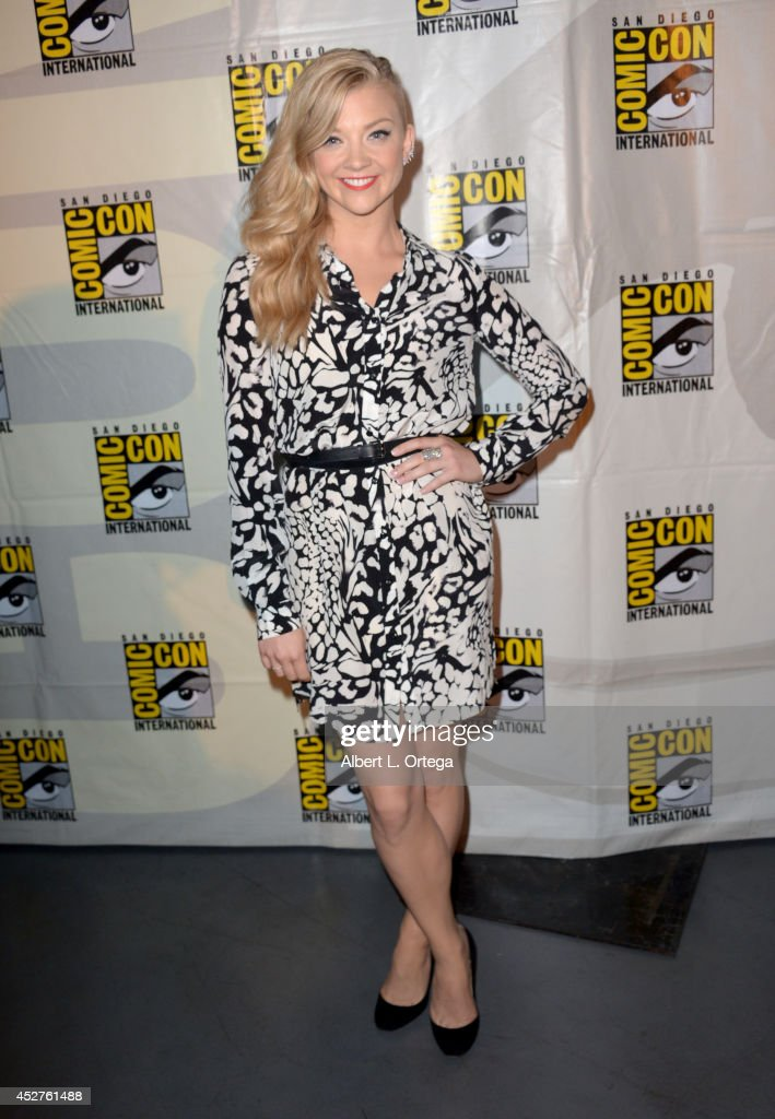 Actress Natalie Dormer attends Entertainment Weekly Women Who Kick Ass panel and presentation and presentation during ComicCon International 2014 at...