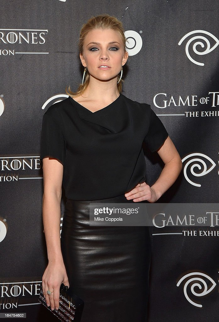 Actress Natalie Dormer attends 'Game Of Thrones' The Exhibition New York Opening at 3 West 57th Avenue on March 27, 2013 in New York City.