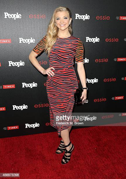 Actress Natalie Dormer attends People's 'Ones To Watch' Event at The Line on October 9 2014 in Los Angeles California