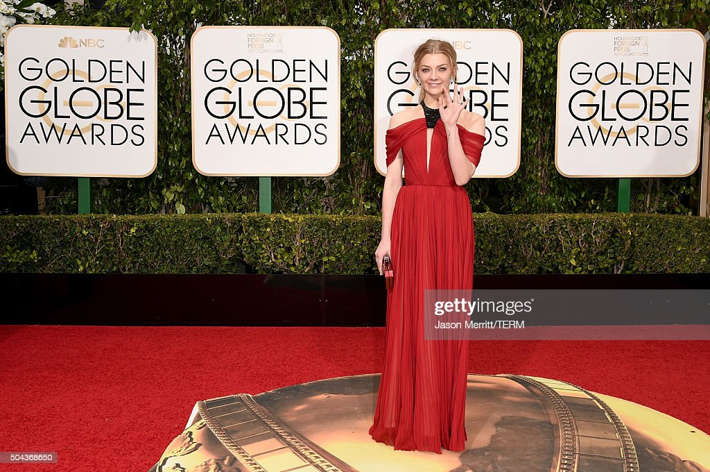 Actress <a gi-track='captionPersonalityLinkClicked' href=/galleries/search?phrase=Natalie+Dormer&family=editorial&specificpeople=817757 ng-click='$event.stopPropagation()'>Natalie Dormer</a> attends the 73rd Annual Golden Globe Awards held at the Beverly Hilton Hotel on January 10, 2016 in Beverly Hills, California.