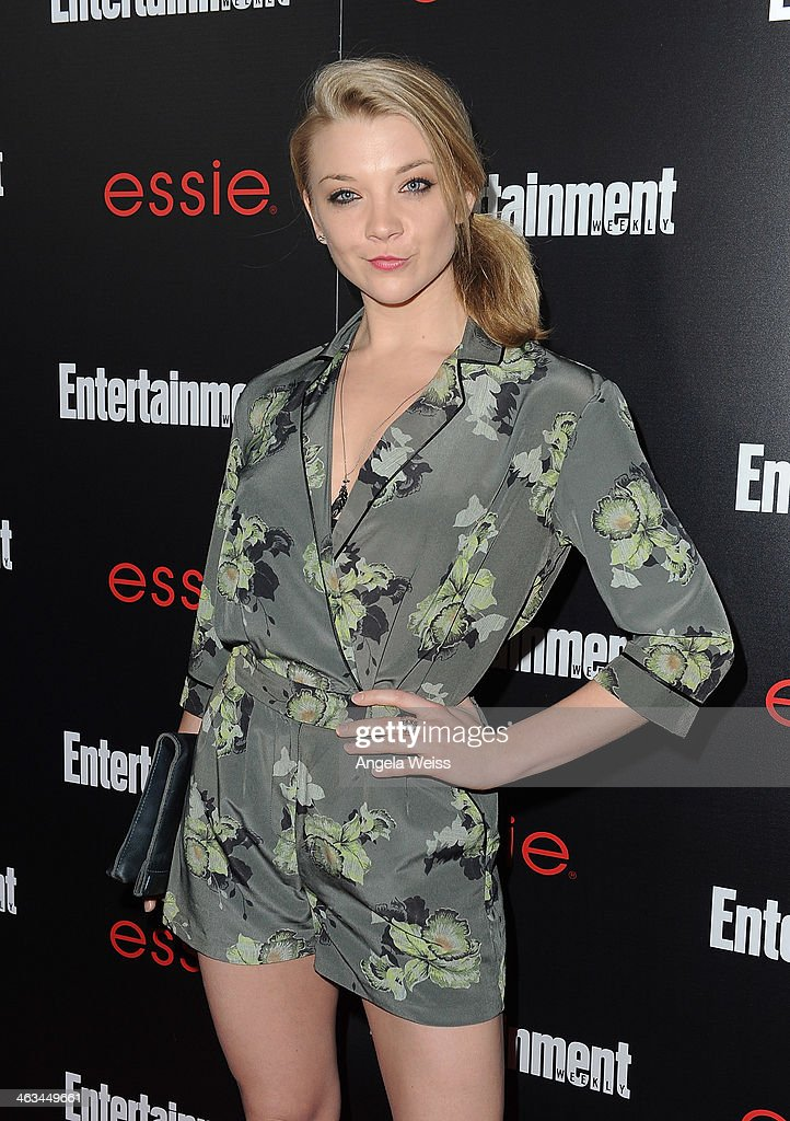 Actress <a gi-track='captionPersonalityLinkClicked' href=/galleries/search?phrase=Natalie+Dormer&family=editorial&specificpeople=817757 ng-click='$event.stopPropagation()'>Natalie Dormer</a> attends the Entertainment Weekly celebration honoring this year's SAG Awards nominees sponsored by TNT & TBS and essie at Chateau Marmont on January 17, 2014 in Los Angeles, California.