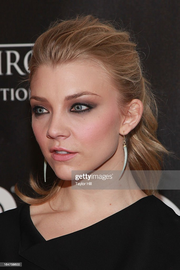 Actress Natalie Dormer attends the 'Game Of Thrones: the Exhibition' New York opening at 3 West 57th Street on March 27, 2013 in New York City.