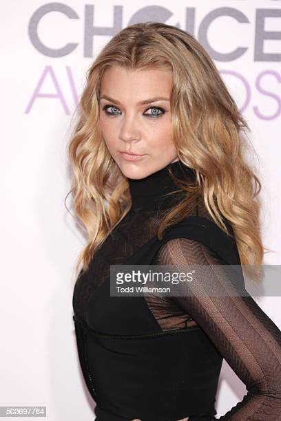 Actress Natalie Dormer attends the People's Choice Awards 2016 at Microsoft Theater on January 6 2016 in Los Angeles California
