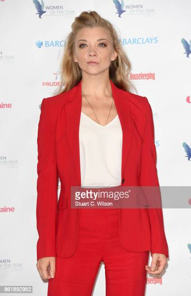 Actress Natalie Dormer attends the Woman Of The Year Awards Lunch at Intercontinental Hotel on October 16 2017 in London England