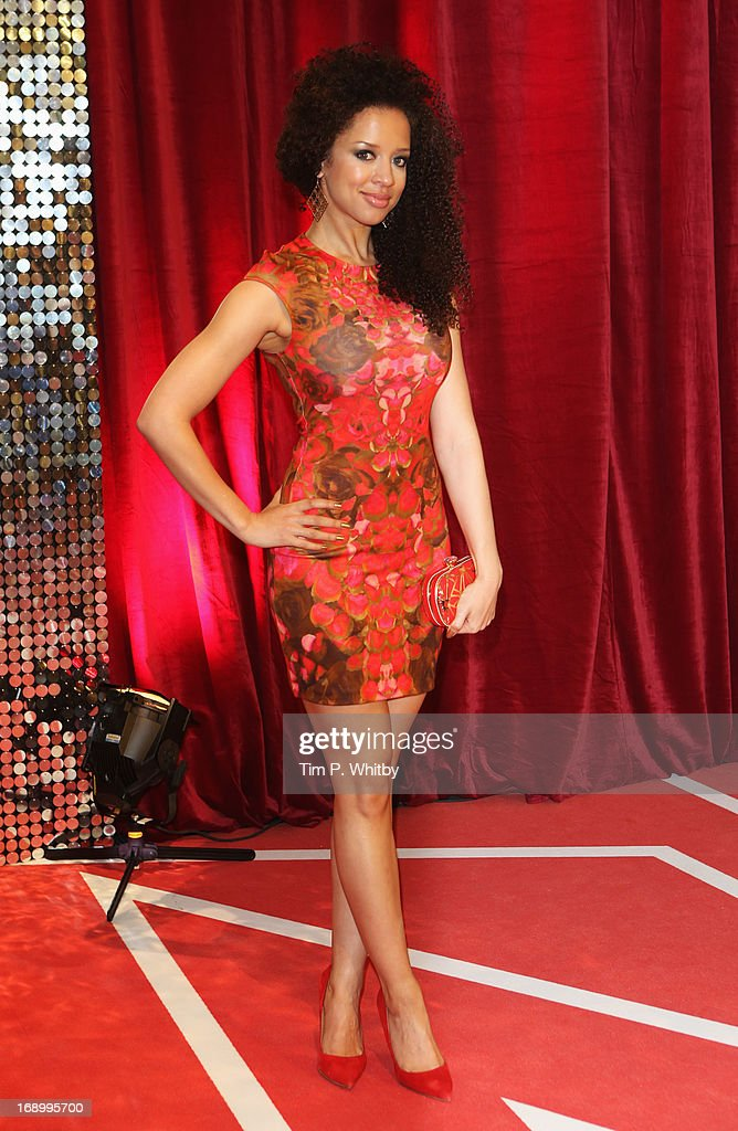 Actress Natalie Gumede attends the British Soap Awards at Media City on May 18, 2013 in Manchester, England.