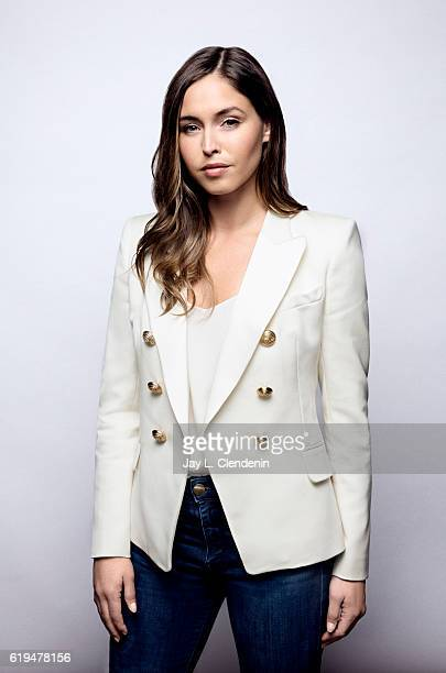 Actress Natalie Krill from the film Below Her Mouth poses for a portraits at the Toronto International Film Festival for Los Angeles Times on...