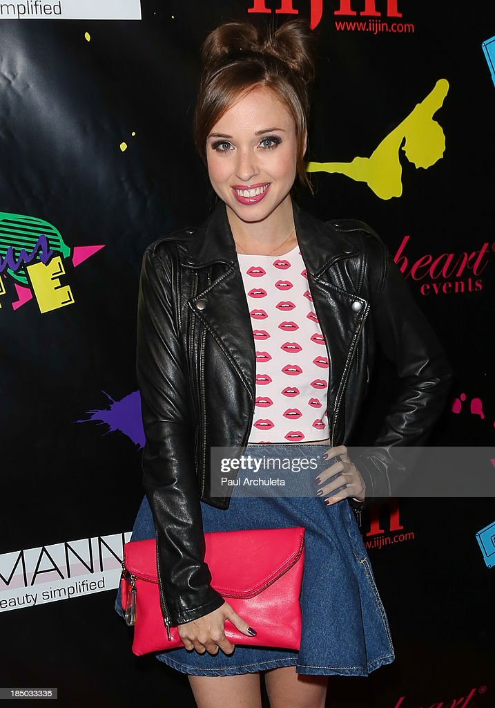 Actress Natalie Lander attends iiJin's spring/summer 2014 'The Glamorous Life' fashion show at Avalon on October 16, 2013 in Hollywood, California.