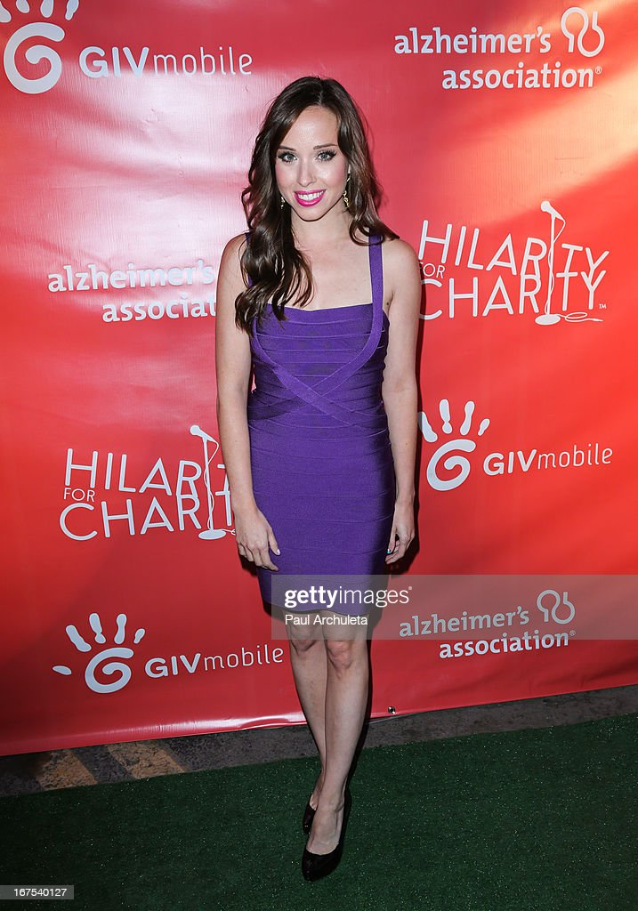 Actress Natalie Lander attends the 2nd annual Hilarity for Charity Event at Avalon on April 25, 2013 in Hollywood, California.
