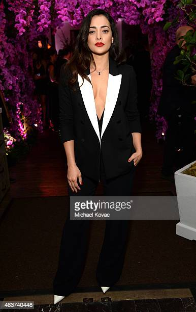 Actress Natalie Martinez attends BVLGARI and Save The Children STOP THINK GIVE PreOscar Event at Spago on February 17 2015 in Beverly Hills California