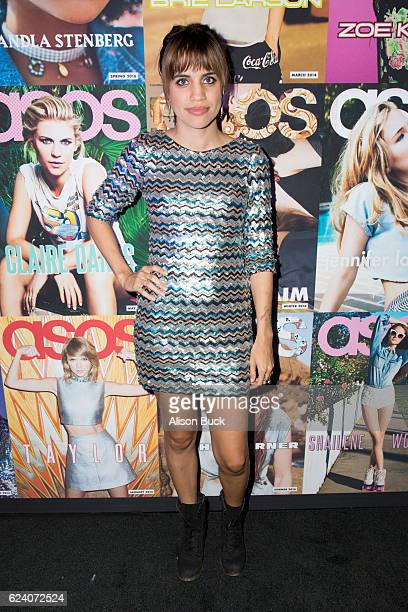 Actress Natalie Morales arrives at ASOS Launches US Edition of Magazine at The Sayers Club on November 17 2016 in Hollywood California