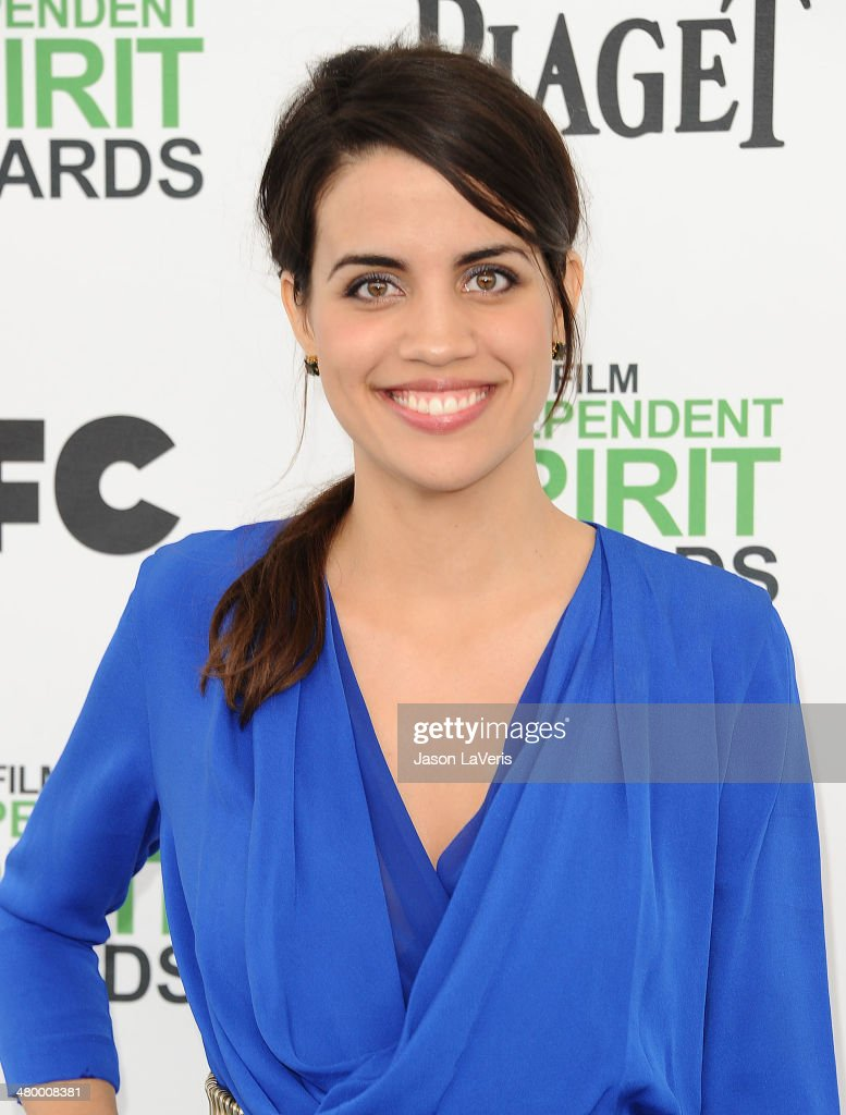 Actress <a gi-track='captionPersonalityLinkClicked' href=/galleries/search?phrase=Natalie+Morales+-+Actress&family=editorial&specificpeople=15326754 ng-click='$event.stopPropagation()'>Natalie Morales</a> attends the 2014 Film Independent Spirit Awards on March 1, 2014 in Santa Monica, California.