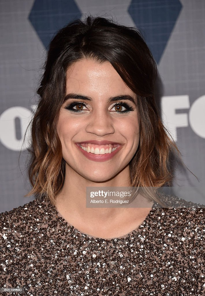 Actress Natalie Morales attends the FOX Winter TCA 2016 AllStar Party at The Langham Huntington Hotel and Spa on January 15 2016 in Pasadena...