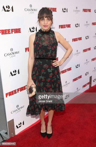 Actress Natalie Morales attends the premiere of A24's 'Free Fire' at ArcLight Hollywood on April 13 2017 in Hollywood California