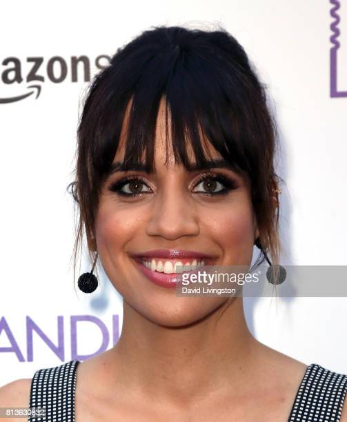 Actress Natalie Morales attends the premiere of Amazon Studios' 'Landline' at ArcLight Hollywood on July 12 2017 in Hollywood California