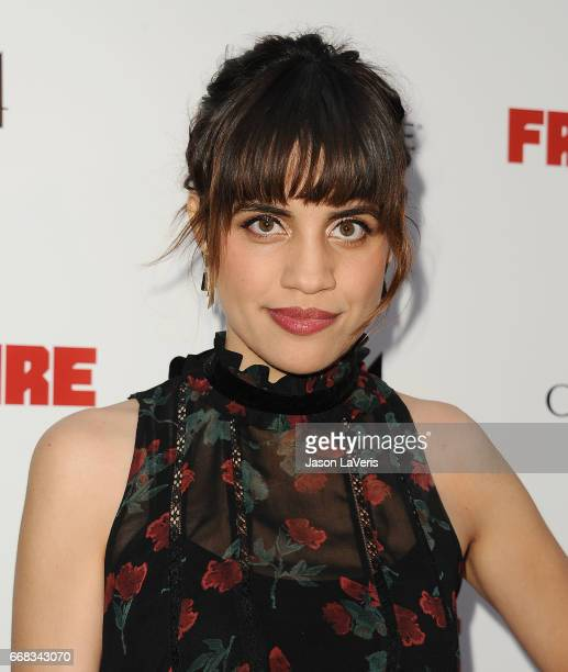 Actress Natalie Morales attends the premiere of 'Free Fire' at ArcLight Hollywood on April 13 2017 in Hollywood California