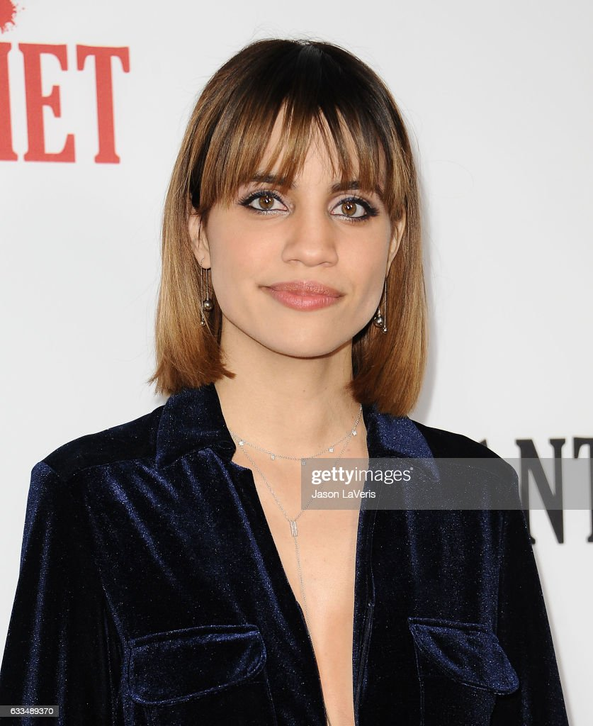 Actress Natalie Morales attends the premiere of 'Santa Clarita Diet' at ArcLight Cinemas Cinerama Dome on February 1, 2017 in Hollywood, California.