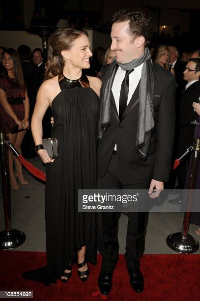 Actress Natalie Portman and director Darren Aronofsky arrive at the 63rd Annual DGA Awards held at the Grand Ballroom at Hollywood Highland Center on...