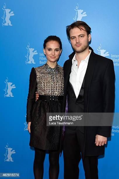 Actress Natalie Portman and director Jack Pettibone Riccobono attend 'The Seventh Fire' premiere and panel discussion during the 65th Berlinale...