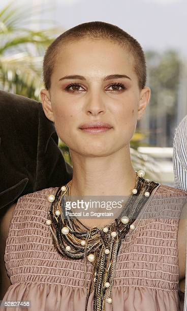 Actress Natalie Portman attends a photocall promoting the film 'Star Wars Episode III Revenge of the Sith' at the Palais during the 58th...