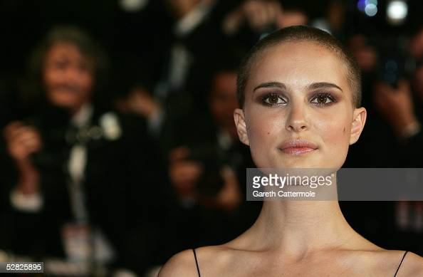 Actress Natalie Portman attends a screening of 'Kiss Kiss Bang Bang' at the Grand Theatre during the 58th International Cannes Film Festival on May...
