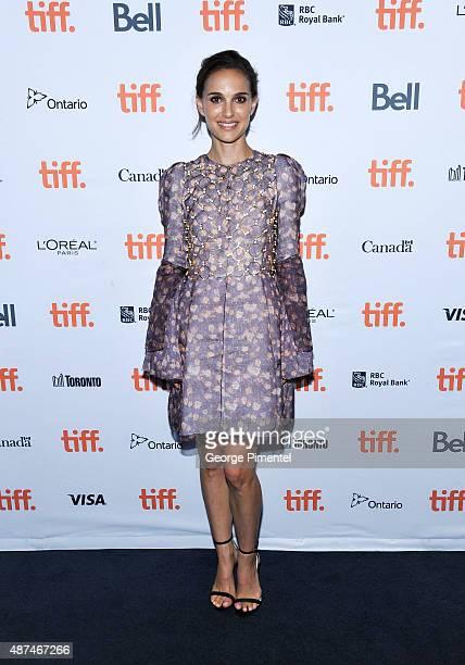 Actress Natalie Portman attends the 2015 Toronto International Film Festival 4th Annual Festival KickOff Fundraising Soiree at TIFF Bell Lightbox on...
