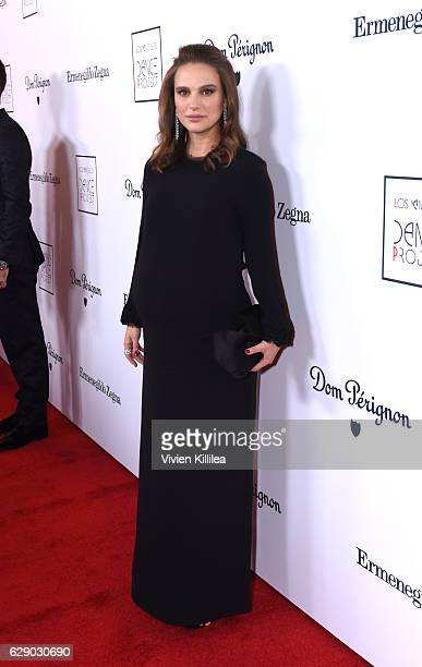Actress Natalie Portman attends the 2016 Los Angeles Dance Project Gala at The Theatre at Ace Hotel Downtown LA on December 10 2016 in Los Angeles...