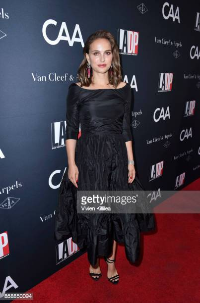 Actress Natalie Portman attends the 2017 Los Angeles Dance Project Gala on October 7 2017 in Los Angeles California