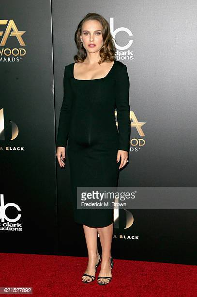 Actress Natalie Portman attends the 20th Annual Hollywood Film Awards on November 6 2016 in Beverly Hills California