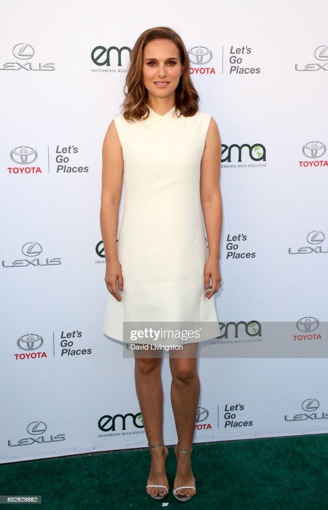 Actress Natalie Portman attends the 27th Annual EMA Awards at Barker Hangar on September 23, 2017 in Santa Monica, California.