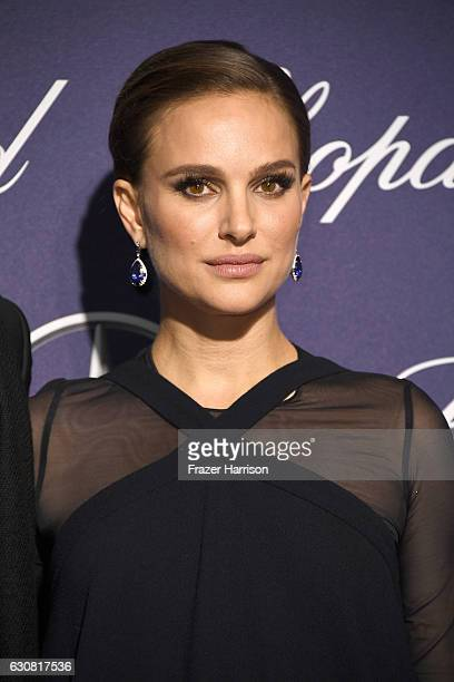 Actress Natalie Portman attends the 28th Annual Palm Springs International Film Festival Film Awards Gala at the Palm Springs Convention Center on...