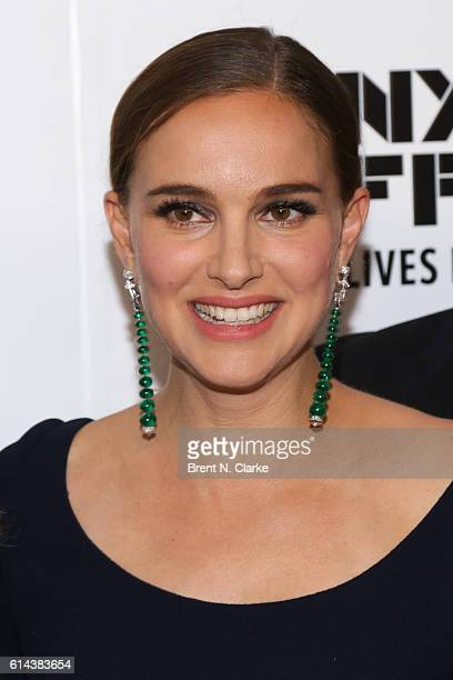 Actress Natalie Portman attends the 54th New York Film Festival 'Jackie' screening on October 13 2016 in New York City