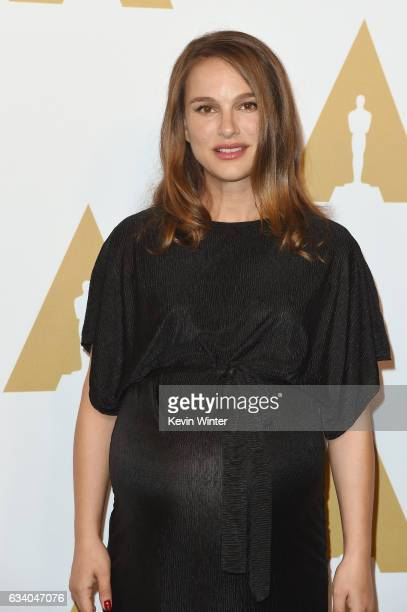 Actress Natalie Portman attends the 89th Annual Academy Awards Nominee Luncheon at The Beverly Hilton Hotel on February 6 2017 in Beverly Hills...