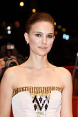 Actress Natalie Portman attends the 'As We Were Dreaming' premiere during the 65th Berlinale International Film Festival at Berlinale Palace on...