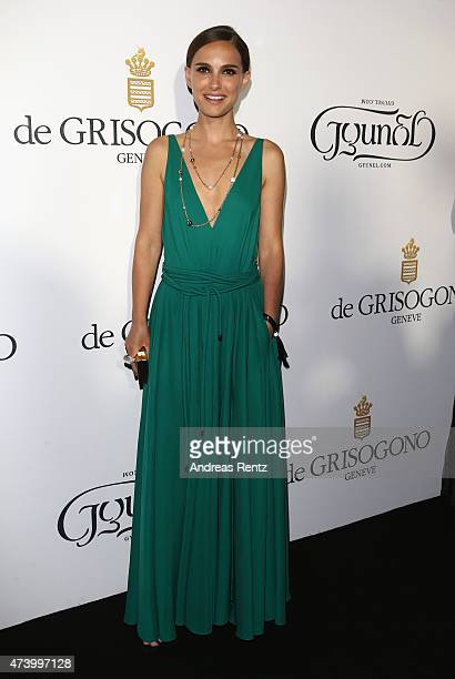 Actress Natalie Portman attends the De Grisogono party during the 68th annual Cannes Film Festival on May 19 2015 in Cap d'Antibes France