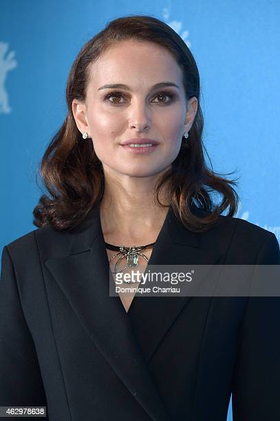 Actress Natalie Portman attends the 'Knight of Cups' photocall during the 65th Berlinale International Film Festival at Grand Hyatt Hotel on February...