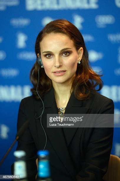 Actress Natalie Portman attends the 'Knight of Cups' press conference during the 65th Berlinale International Film Festival at Grand Hyatt Hotel on...