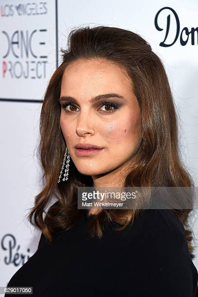 Actress Natalie Portman attends the LA Dance Annual Gala at The Theatre at Ace Hotel on December 10 2016 in Los Angeles California