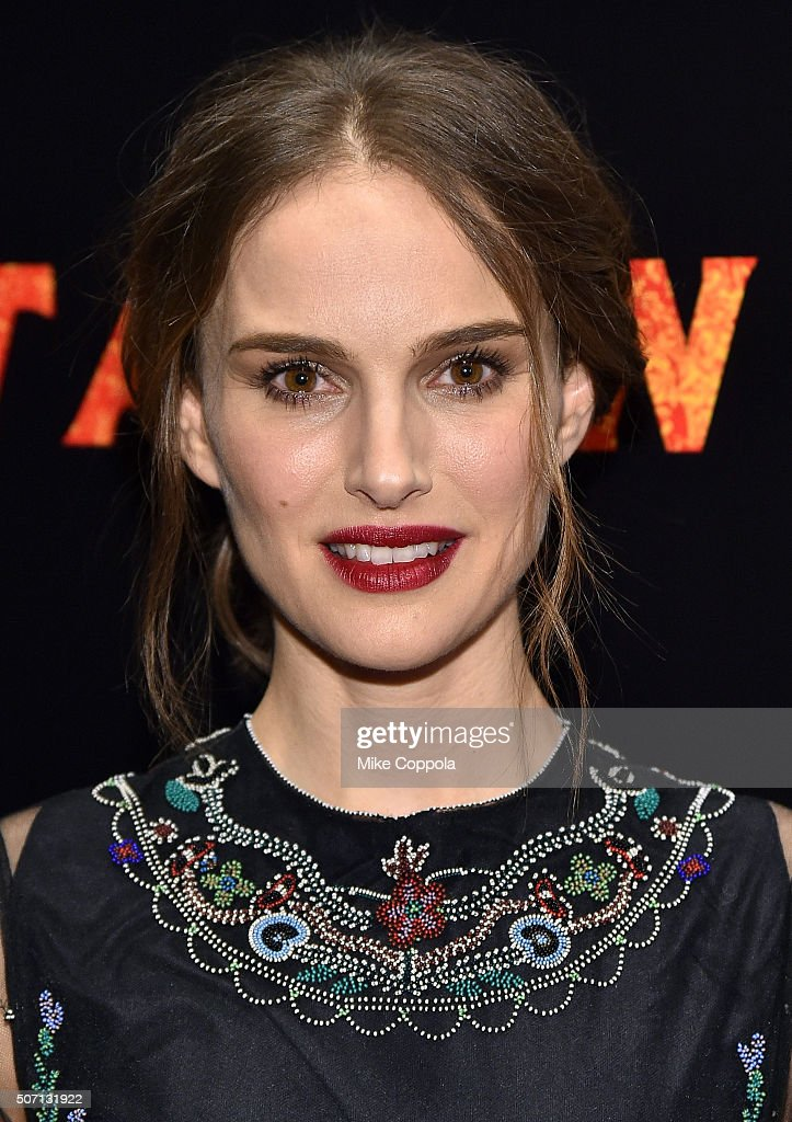 Actress Natalie Portman attends the New York premiere of 'Jane Got A Gun' hosted by The Weinstein Company with the Cinema Society and Serpent's Bite at The Museum of Modern Art on January 27, 2016 in New York City.