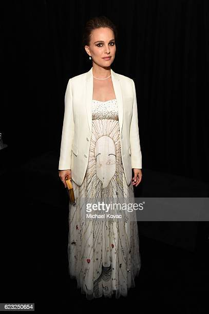 Actress Natalie Portman attends the premiere of 'Jackie' at AFI Fest 2016 presented by Audi at The Chinese Theatre on November 14 2016 in Hollywood...
