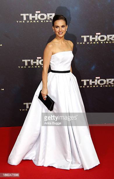 Actress Natalie Portman attends the 'Thor The Dark World' Germany premiere at Cinestar on October 27 2013 in Berlin Germany