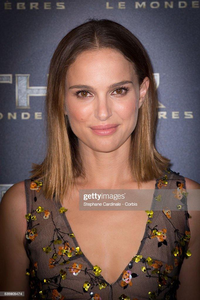 Actress Natalie Portman attends 'Thor: The Dark World' Premiere at Le Grand Rex Cinema, in Paris.