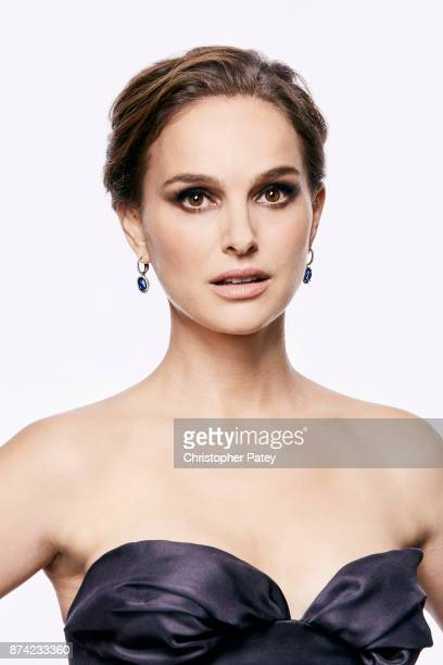 Actress Natalie Portman poses for a portrait at the 31st Annual American Cinematheque Awards Gala at The Beverly Hilton Hotel on November 10 2017 in...