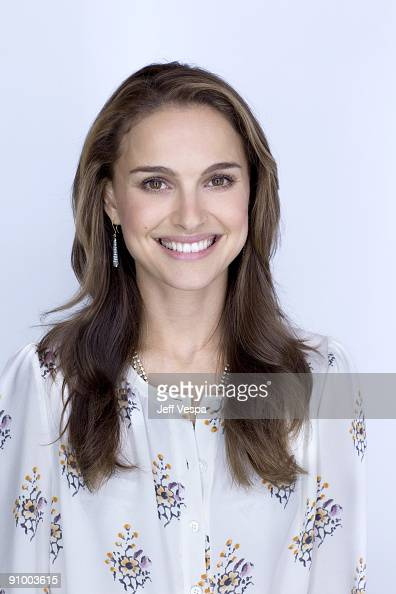 Actress Natalie Portman poses for a portrait session at the 2009 Toronto Film Festival on September 16 2009