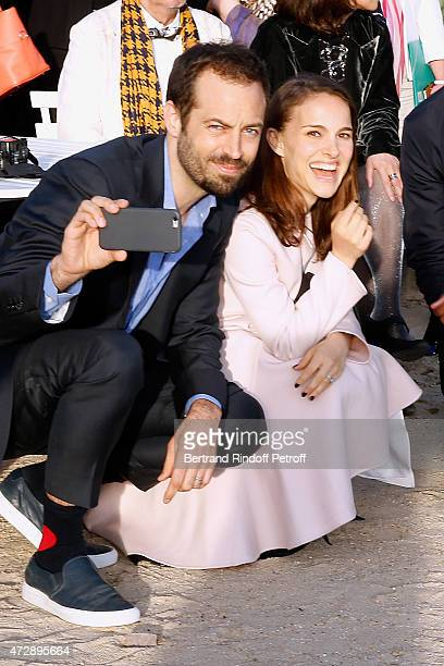 Actress Natalie Portman with her husband Paris National Opera dance director Founding Director of 'LA Dance Project' and Creator of the Ballet...