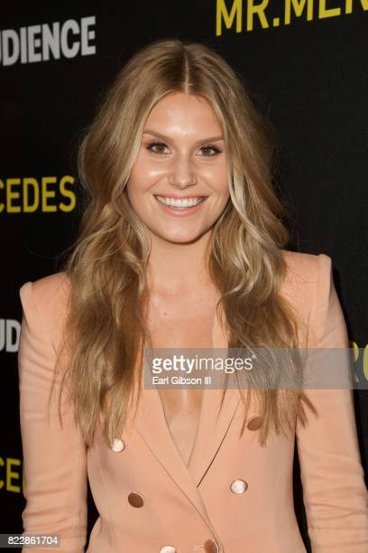 Actress Natalie Sharp attends the screening of ATT Audience Network's 'Mr Mercedes' at The Beverly Hilton Hotel on July 25 2017 in Beverly Hills...