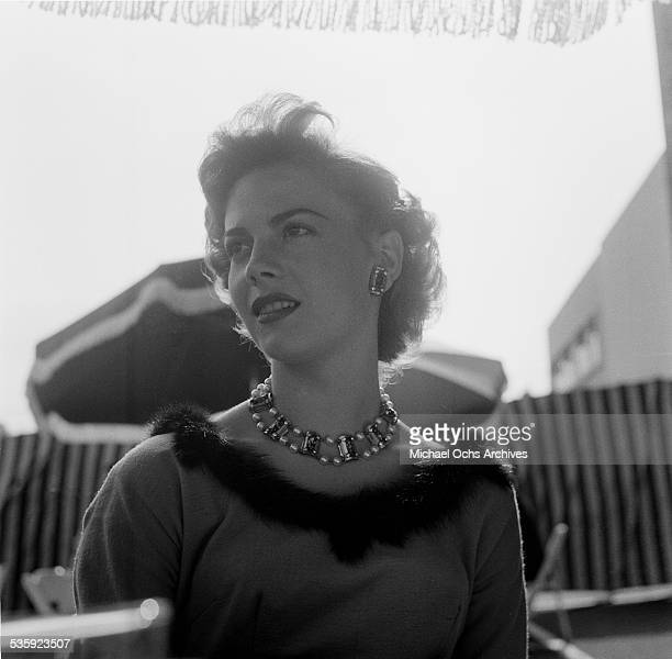Actress Natalie Wood attends the Screen Directors Building party in Los AngelesCA