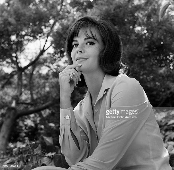 Actress Natalie Wood poses for a portrait in Los AngelesCA