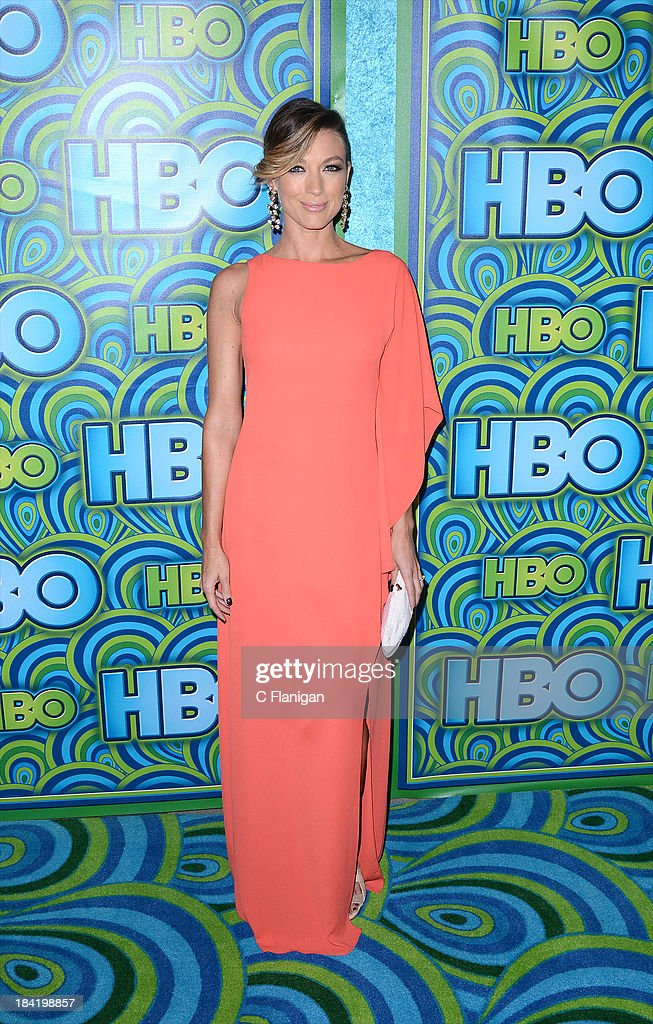 Actress <a gi-track='captionPersonalityLinkClicked' href=/galleries/search?phrase=Natalie+Zea&family=editorial&specificpeople=242853 ng-click='$event.stopPropagation()'>Natalie Zea</a> arrives at HBO's Annual Primetime Emmy Awards Post Award Reception at The Plaza at the Pacific Design Center on September 22, 2013 in Los Angeles, California.